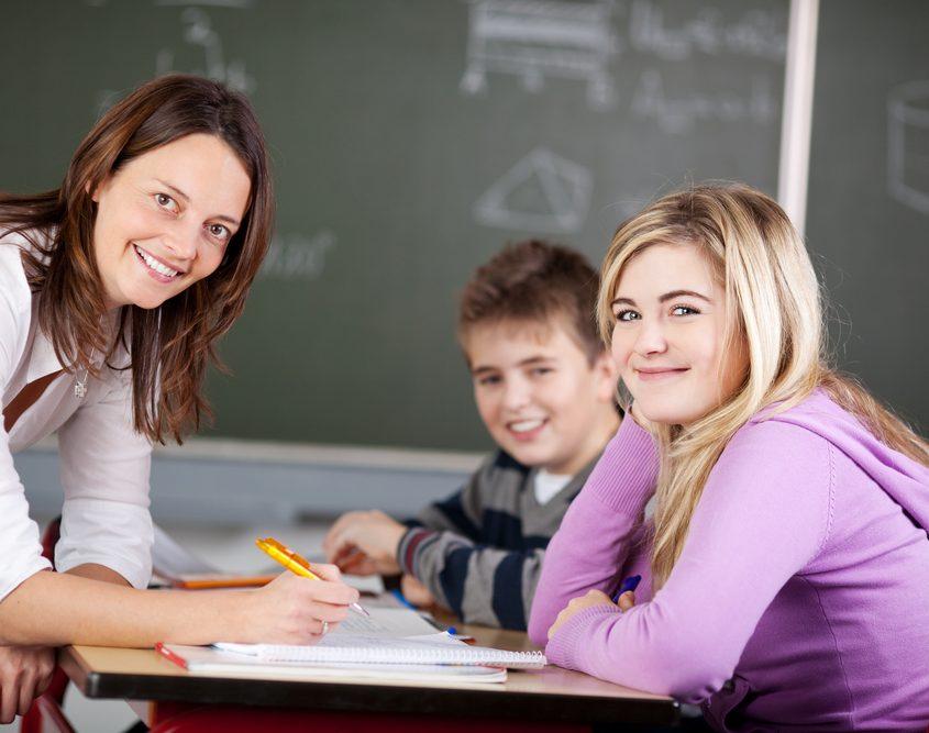 Nachhilfe-Lehrerin