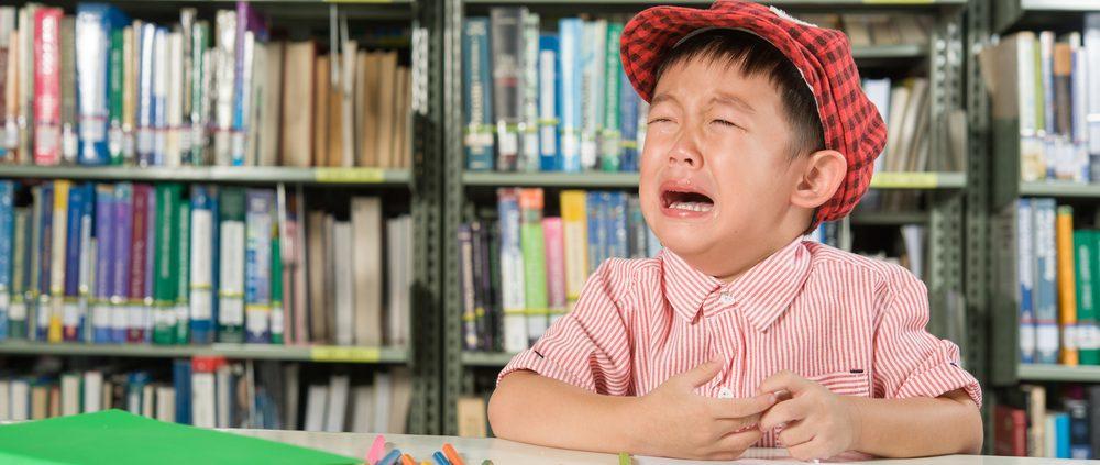 grundschüler frustriert